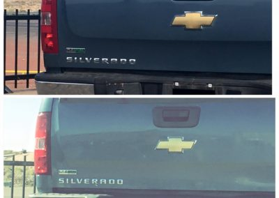 Before and After Truck Repair