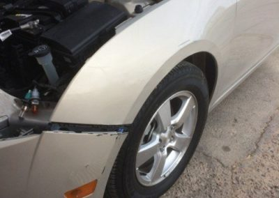 Collision Damage After Repair