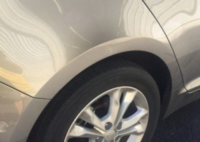 Mobile Dent Crease Repaired